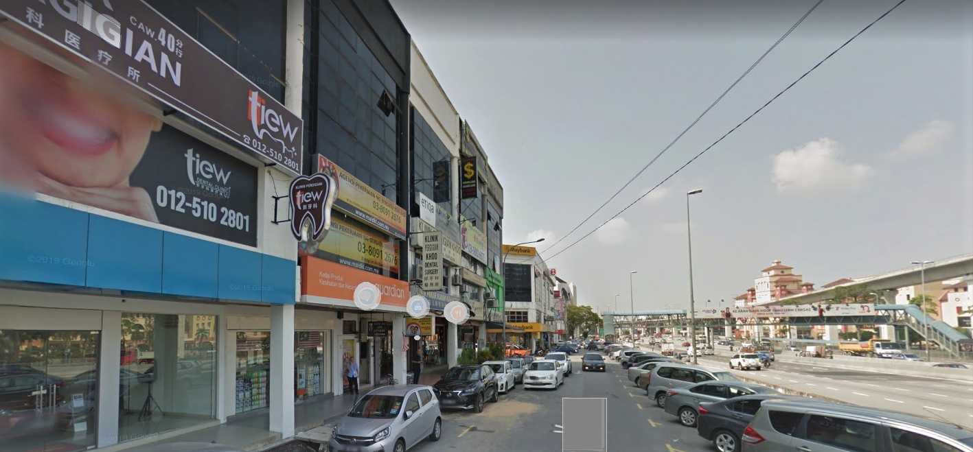 shop to let bandar puchong jaya